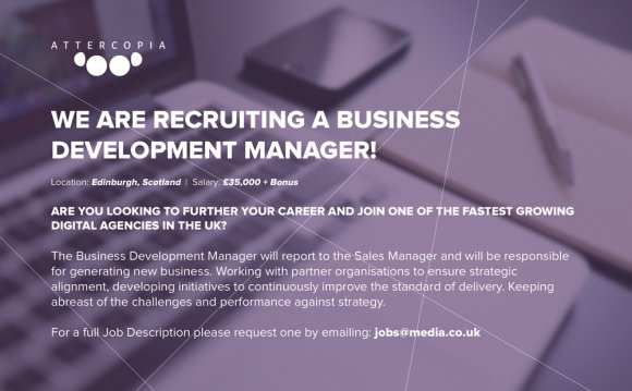New Role: Business Development