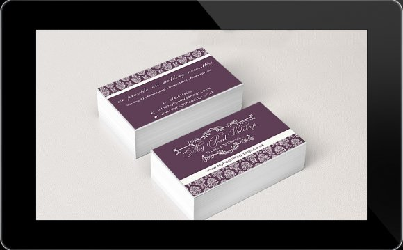 Business Card Design – Wedding