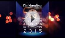 2015 Outstanding 50 Asian Americans in Business Award
