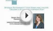 "Business Development Video Series for Lawyers - ""Creating"