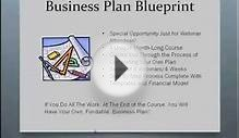 Business Plan Blueprint Explained