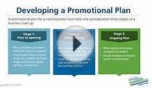 Business Plan Tutorial 9: Developing a Promotional Plan