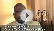 Client: SBA Santa Ana Office - Vincent McCoy, IE Small