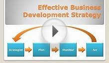 Effective Business Development Strategy