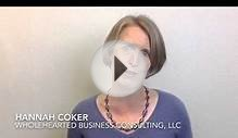 Hannah Coker, Wholehearted Business Consulting, LLC