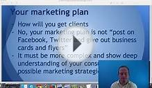 How to write a business plan: free business plan template